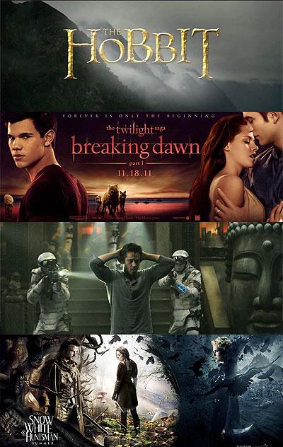 2012年最受期待的电影,男女各不同