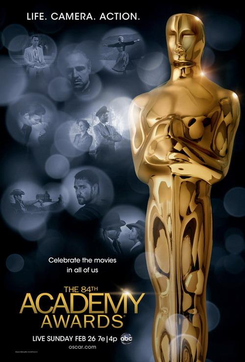 2012 The 84th Academy Awards 第84届奥斯卡(Oscar)获奖名单
