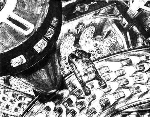 银翼杀手 绝版原画集现身网络 附99页完全观看链接