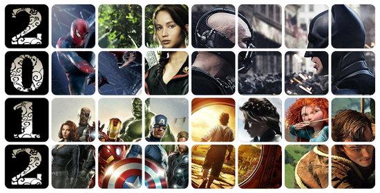 2012年好莱坞电影上映清单