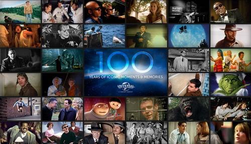 环球公司发布100周年新Logo