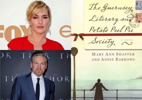凯特·温斯莱特将主演接拍二战文艺爱情片《格恩西文学和土豆饼协会》