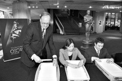 奥斯卡明年启用电子投票 颁奖时间有望提前