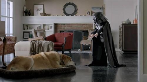 超级碗广告:小盆友版黑武士