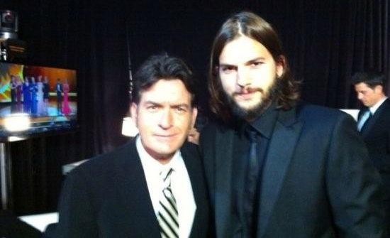 Charlie Sheen向Ashton Kutcher道歉