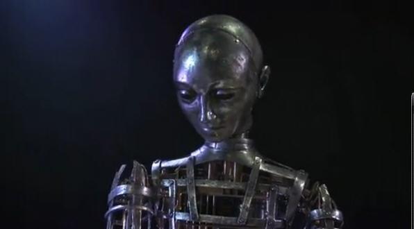 《雨果》中发条机器人制作花絮