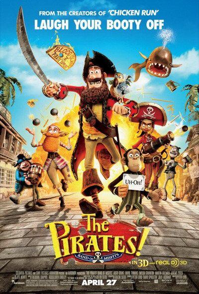 神奇海盗团(The Pirates Band of Misfits)预告片 粘土海盗疯癫胜德普
