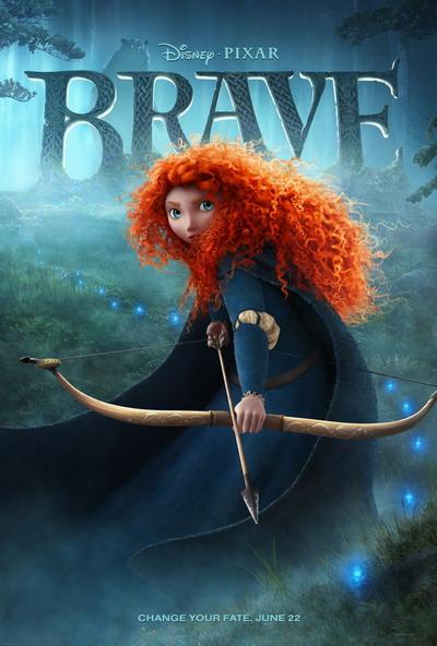迪士尼皮克斯动画《勇敢》(Brave)第二款预告片以及海报发布