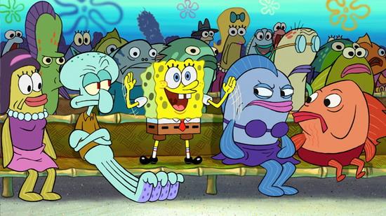 派拉蒙2014年将推出《海绵宝宝》电影版