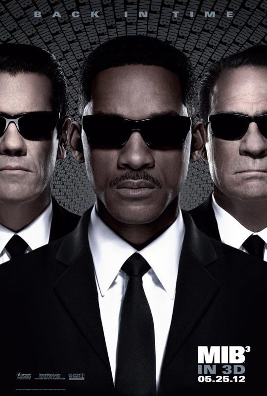 《黑衣人3》(Men in Black3)全新两分半钟高清剧场版预告片