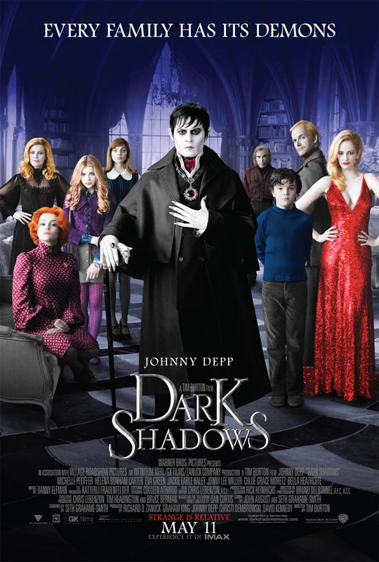 蒂姆·波顿,约翰尼·德普《黑暗阴影》首发官方预告片