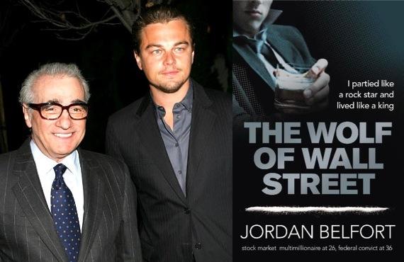 斯科塞斯和迪卡普里奥将第5次合作,拍摄《华尔街之狼》