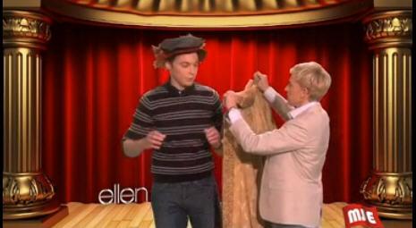 谢耳朵Jim Parsons做客Ellen秀