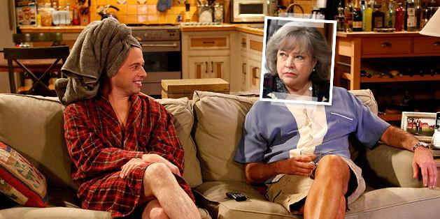 凯西·贝茨客串《好汉两个半》饰演已故查理的鬼魂