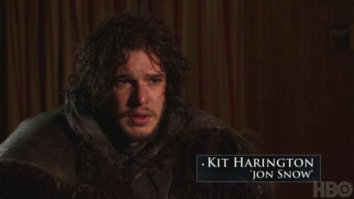 《权力的游戏》第二季 主演介绍角色 Jon Snow