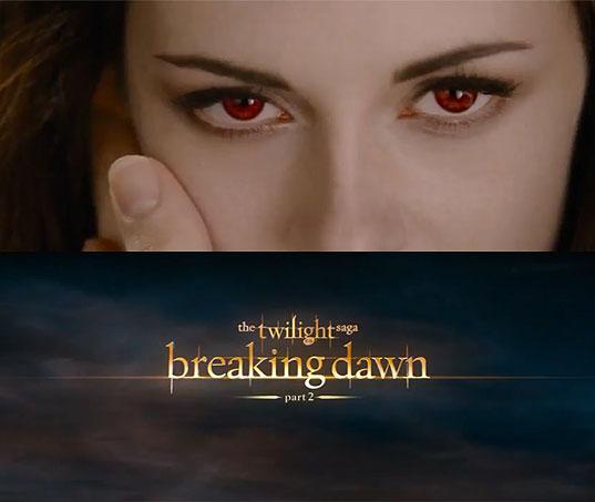 《暮光之城》大结局《破晓下》(The Twilight Saga: Breaking Dawn – Part 2)先行预告片