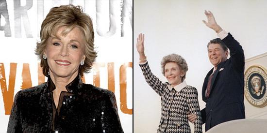 简·方达将在《白宫管家》中饰演美国前第一夫人南希·里根