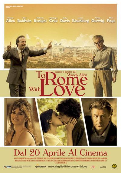伍迪·艾伦《爱在罗马》(To Rome With Love)首曝预告