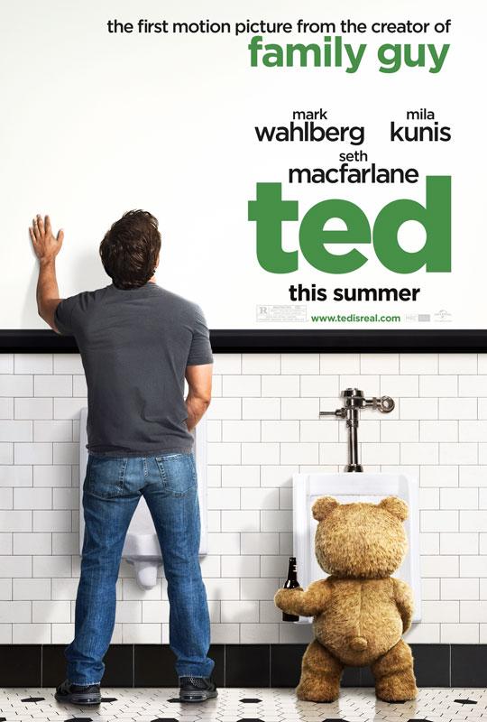 沃尔伯格《泰迪熊》(Ted)限制级预告以及苹果版预告