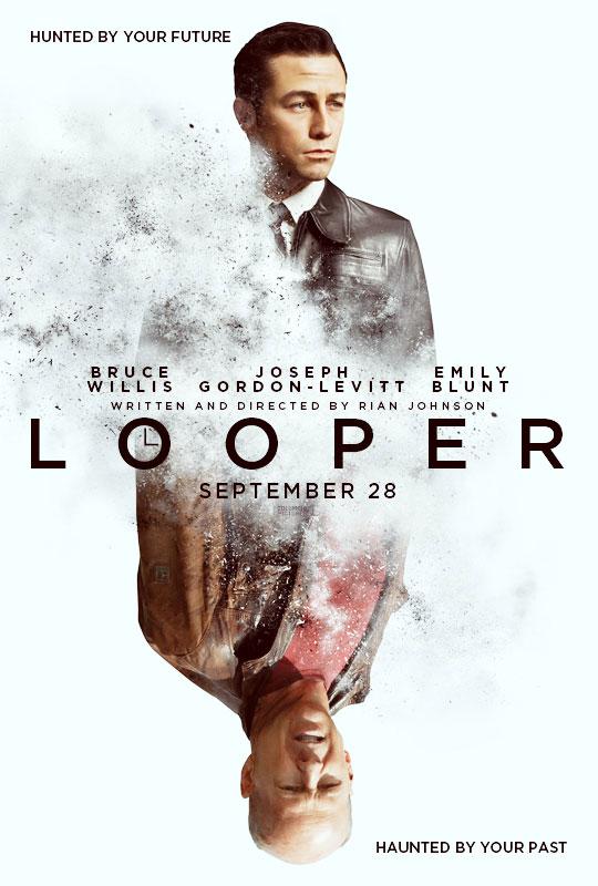 《环形使者》(Looper)首支正式高清预告片 囧瑟夫威利斯双生相杀