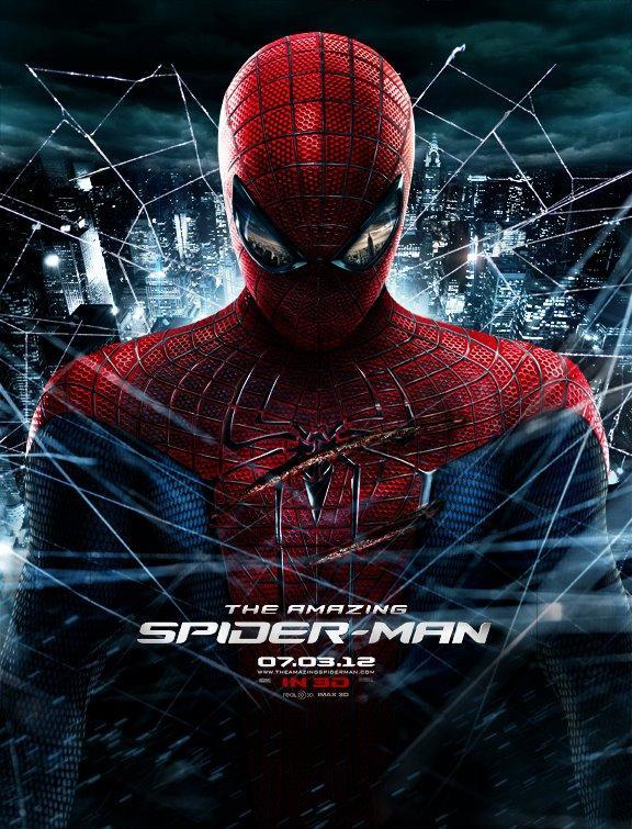 《超凡蜘蛛侠》(The Amazing Spider-Man)新版IMAX海报 日版预告现塔顶终极对决