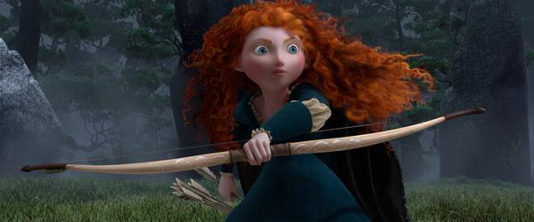 《勇敢传说》(Brave)制作特辑之Merida及片花The Triplets
