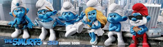 索尼已开始着手准备《蓝精灵3》