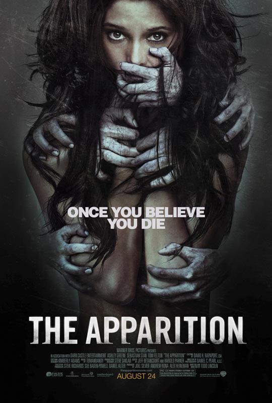 《幻影》(The Apparition)惊悚预告 《暮色》与《哈利波特》主演联手