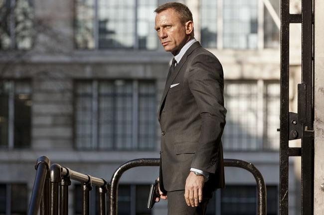 《007:天幕危机》(Skyfall)新曝拍摄日志 英伦范邦德着装攻略