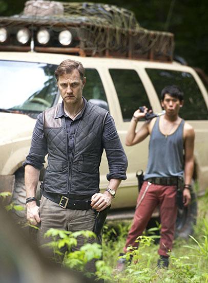"""《行尸走肉》(The Walking Dead)第三季大反派曝光 """"总督""""来了"""