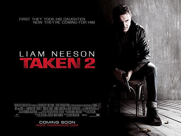连姆·尼森《飓风营救2》(Taken 2)首曝预告 铁血老爸再展杀人神技