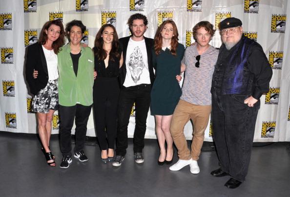 《权力的游戏》(Game of Thrones)亮相北美漫展 曝光14个新角色