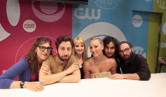 《生活大爆炸》(The Big Bang Theory)Comic-Con新闻集 Raj的桃花来了