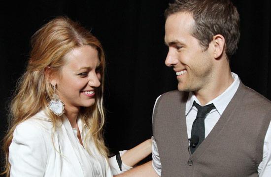绯闻女孩布蕾克·莱弗利(Blake Lively)与绿灯侠瑞安·雷诺兹(Ryan Reynolds)结婚