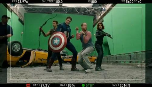 《复仇者联盟》(The Avengers)笑场集锦以及删减片段