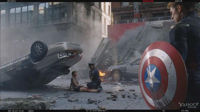 《复仇者联盟》(The Avengers)备用开场曝光 惨烈深沉诺兰范十足