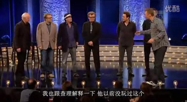 查理·辛(Charlie Sheen)的即兴喜剧表演(Improv)