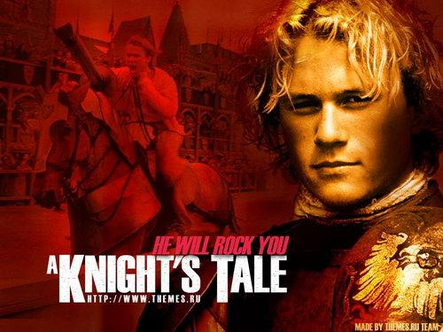 《圣战骑士》(A Knight's Tale)将登小荧屏 重塑希斯莱杰经典角色
