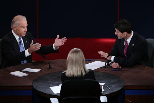2012美国副总统候选人首次辩论(乔·拜登与保罗·瑞安)