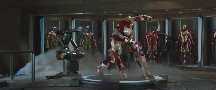 《钢铁侠3》(Iron Man 3)正式预告的先行预告