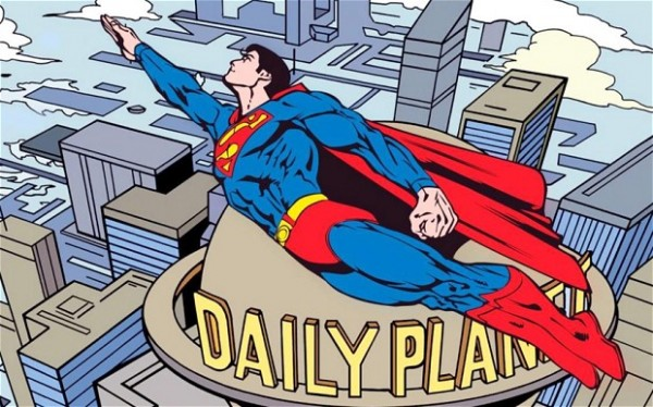 超人不再是记者从《行星日报》辞职了 而成为了Blogger