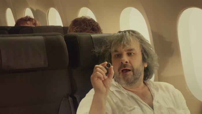 《霍比特人》联合新西兰航空集体卖萌:打造有爱安全宣传片