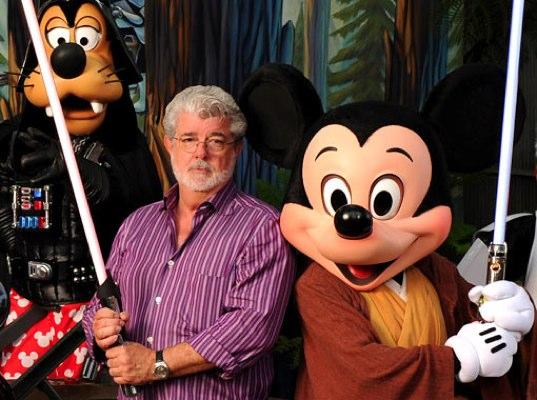 迪士尼(Disney)40亿买下卢卡斯影业(Lucasfilm) 《星球大战7》2015年上映