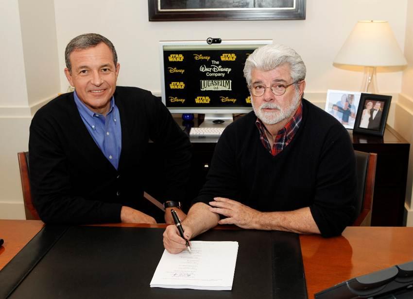 迪士尼40亿买下卢卡斯影业 《星球大战7》2015年上映
