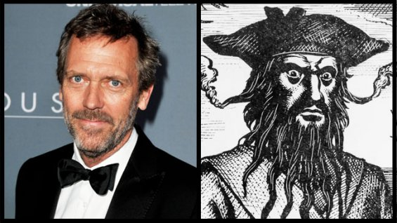 休·劳瑞(Hugh Laurie)或加盟NBC新剧《Crossbones》 饰海盗黑胡子
