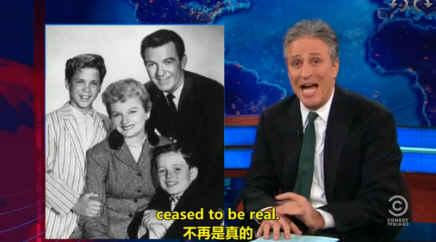 囧司徒每日秀 2012.11.15 Jon Stewart调侃美国社会的变化