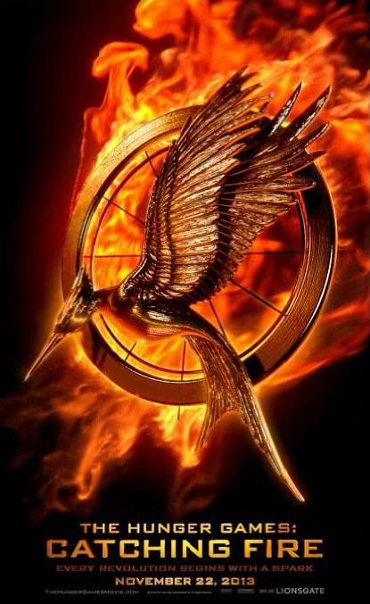《饥饿游戏2:燃烧的女孩》(The Hunger Games: Catching Fire)发布动态海报