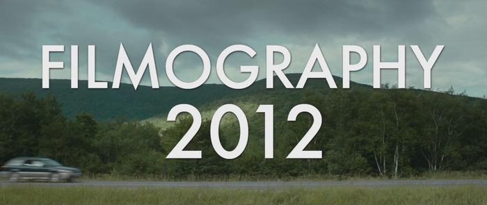 2012混剪季第二弹genrocks 《Filmography 2012》