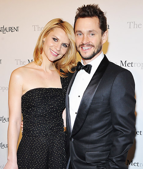 《国土安全》女星克莱尔·丹尼斯(Claire Danes)和Hugh Dancy迎来儿子Cyrus