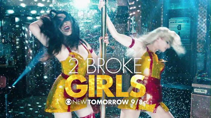 《破产姐妹》(2 Broke Girls)超级碗香艳广告